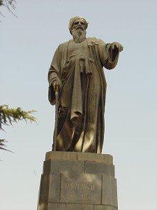 Statue de Rudaki 02