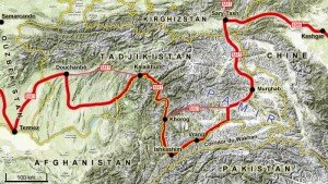 Tadjikistan itinéraire des Pamirs