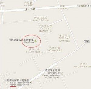 carte de Xiangfeimu 03  Haohan bis
