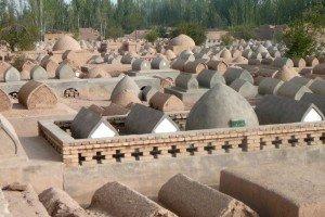 cimetière du Mausolée D'Abakh Khoja 03