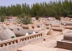 cimetière du Mausolée D'Abakh Khoja