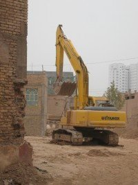 destruction du vieux Kashgar 05