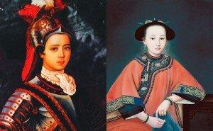 différents costumes de Xiang Fei