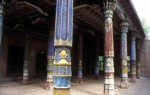 Kashgar 04 Mausolée d'Abakh Khodja idgah