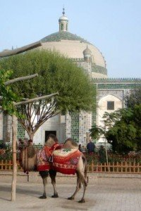 Kashgar 04 ter  Mausolée d'Abakh Khodja