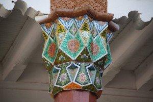 Kashgar 04 ter Mausolée d'Abakh Khodja jardin