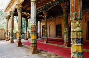 Kashgar 05 bis Mausolée d'Abakh Khodja mosquée Jaman 01