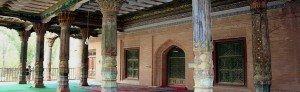 Kashgar 05 Mausolée d'Abakh Khodja jardin