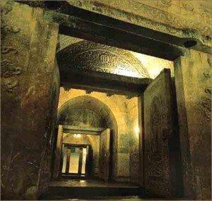 Kashgar 06 Mausolée d'Abakh Khodja intérieur