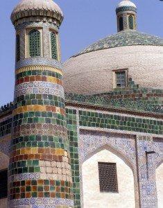 Kashgar 07 Mausolée d'Abakh Khodja détail
