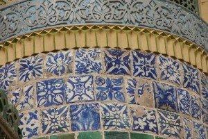 Kashgar 07 ter Mausolée d'Abakh Khodja détail