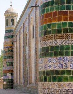 Kashgar 08 Mausolée d'Abakh Khodja détail