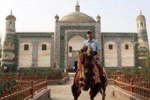 Kashgar 09 Mausolée d'Abakh Khodja en 2010