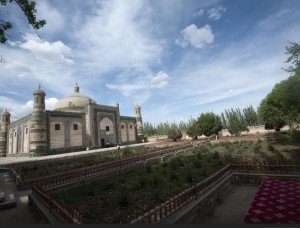 Kashgar 10 bis Mausolée d'Abakh Khodja