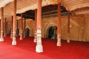 Kashgar 15 Mausolée d'Abakh Khodja Idgah de la mosquée Jaman