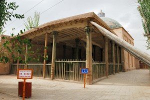 Kashgar 16 Mausolée d'Abakh Khodja salle de prière