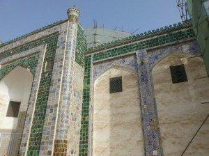 Kashgar 20 Mausolée d'Abakh Khodja rénovations