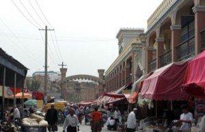 Kashgar  la vielle ville 03 marché du dimanche
