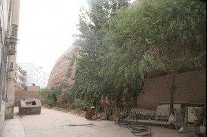 Kashgar mur d'enceinte de l'ancienne ville
