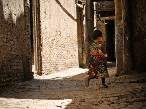 Kashgar ruelle de la vielle ville 07