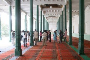 Mosquée Id Kah de Kashgar 04 intérieur