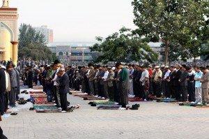Mosquée Id Kah de Kashgar 06 dernier jour du Ramadan