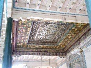 Mosquée Id Kah de Kashgar 07 intérieur bis