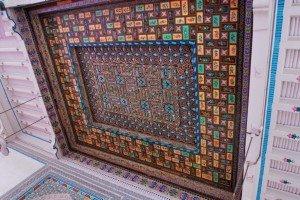 Mosquée Id Kah de Kashgar 07 intérieur quater
