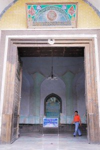 Mosquée Id Kah de Kashgar 07 ter porte d'entrée sept 2010