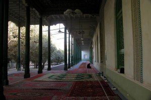 Mosquée Id Kah de Kashgar 10 intérieur