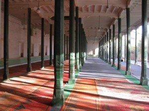 Mosquée Id Kah de Kashgar intérieur 12