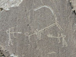 pétroglyphe de la vallée de Whakhan 02 bis