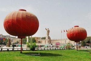 place du peuple de Kashgar