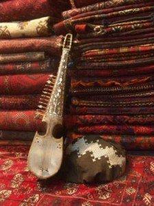Rubab instrument de musique d'Asie centrale