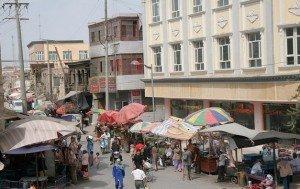 rue de la vieille ville de Kashgar