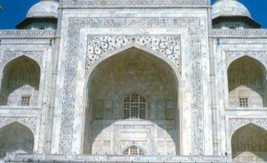 Taj Mahal 08 Iwan