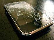 téléphone mobile cassé 01