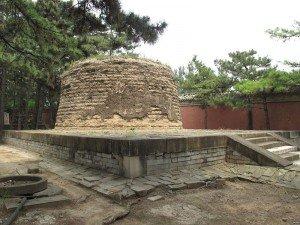 Tombe de Xiang Fei dans le cimetière Qing à Xiaolin Pékin