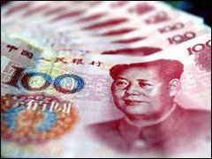 Yuan ou reminbi -RMB- ou 10 jiao ou mao