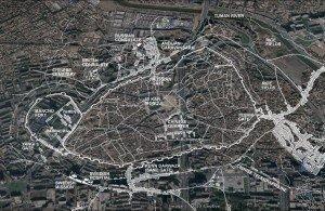 carte de la ville de Kashgar en entier 02