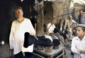 Kashgar la vielle ville 09 le chapelier