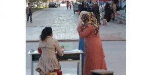 poste de contrôle objectif beauté dans les rues de Kashgar 02 30 nov 2013