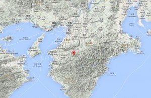carte de la situation du Mont Koya