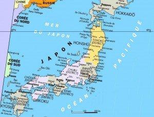 Carte du japon  03
