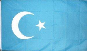 drapeau du turkestan oriental