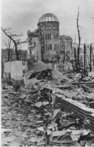 Genbaku un mois après la bombe 6 août 1945 à Bh15 du matin