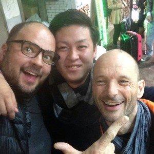 Laurent à tokyo le 21 décembre 2014