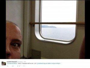Laurent dans le bateau près de Fukuoka 02