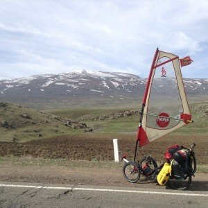 Le Cartrike à travers le Caucase le 11 aoôt 2014