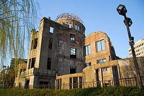 Le dôme de Genbaku seule structure ayant résistée à la bombe 01